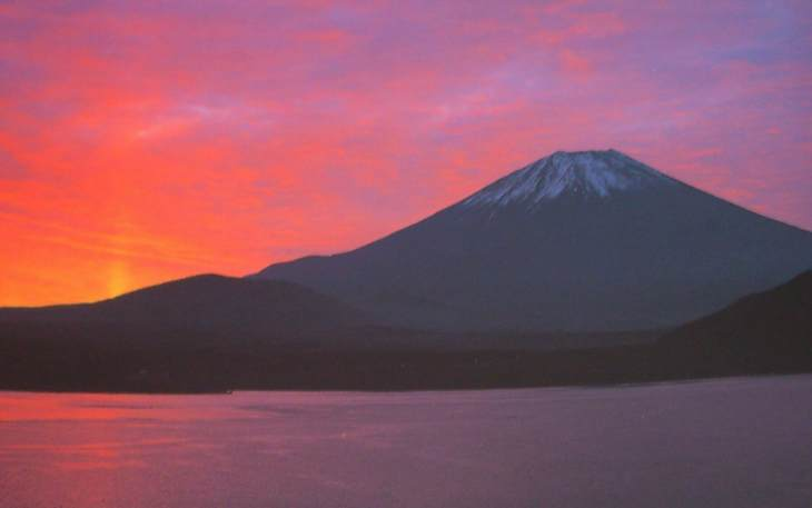 MountFuji-sunset